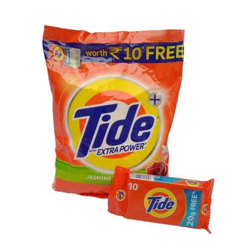 Tide Detergent 1kg with Tide Bar Free
